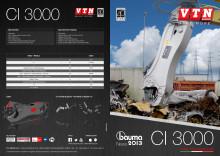 VTN CI 3000 produktblad