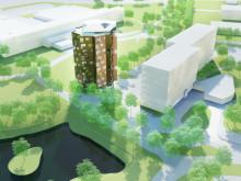 Helsingkrona nation bygger nya studentbostäder i Lund