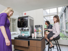 Ny kaffemaskin fra Friele