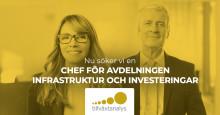 Vi söker en chef till Infrastruktur och investeringar