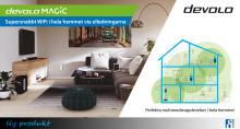 devolo Magic – supersnabbt WiFi i hela hemmet via elledningarna
