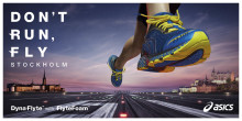ASICS kampanj Don't run, fly inspirerar löpare att få upp farten