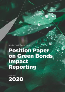 Nordic Position Paper on Green Bonds Impact Reporting (2020 version)