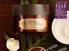 The Body Shop Hawaiian Kukui Cream vinner Elle International Beauty Award 2017