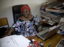 Kongolesisk MR-försvarare prisas i Stockholm