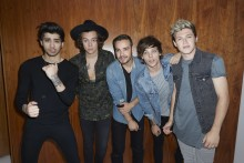 Albumaktuella One Direction till Idol-finalen 5 december