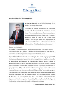 CV Dr. Markus Warncke