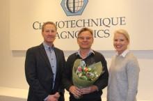 Läkemedelsföretagaren Bo Niklasson är Årets företagare i Vellinge
