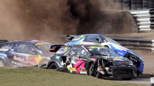 Mer rallycross, Nascar og speedway på Viasat og Viaplay