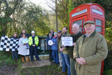 Openreach tackles major engineering challenge to bring superfast broadband to remote Exmoor village
