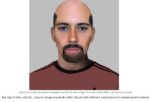 E-fit released in connection with robbery- Milton Keynes