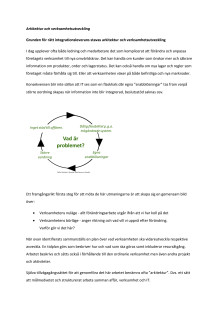 Grunden för rätt integrationsleverans stavas arkitektur och verksamhetsutveckling