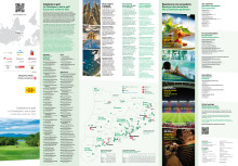 Catalonia golf map