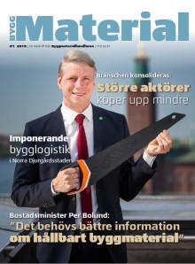 ByggMaterial – Byggmaterialhandelns nya tidning