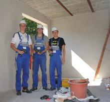 Umbau im Kinderhospiz: RWE Companius und Bildungszentrum Energie Halle engagieren sich