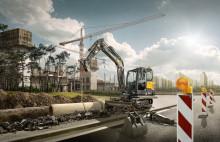 Med nya Volvo EC60E får du en stor maskins prestanda i ett kompakt format