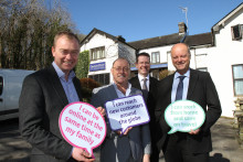 Tim Farron MP hails arrival of ultrafast fibre broadband in three villages in South Lakeland