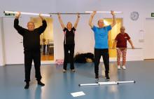 Pressinbjudan: Sportiga seniorer på slutträff