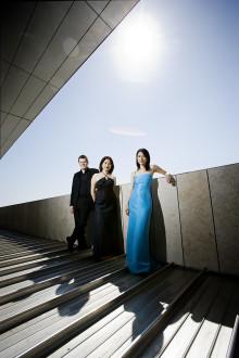 Världsledande pianotrio skapar konst i Landskrona