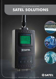SATEL radiomodem applikationer med SATELLINE modem