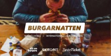 Premiär för Burgarnatten 28 maj