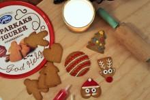Julpyssel för hela familjen med pepparkakor från Göteborgs Kex