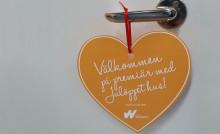 Julöppet hus hos Willhem i Halmstad