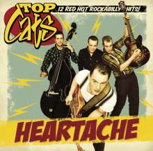 "TOP CATS DEBUTALBUM ""HEARTACHE"" – DIREKT IN PÅ SVERIGETOPPLISTANS 2:A PLATS!"