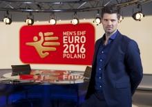 Kristian Kjelling ekspertkommentator under Håndball-EM på TV3