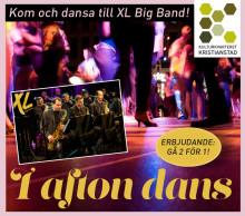 I AFTON DANS med XL Big Band 12 mars på Kulturkvarteret