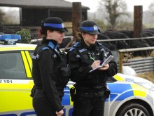 Officers take part in joint operation tackling rural crime