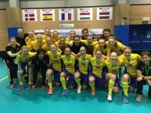 Historisk seger för Sveriges damlandslag - slog 20-årigt målrekord