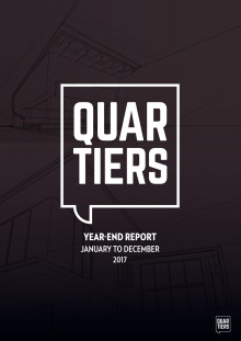 Year End Report 2017 Quartiers Properties