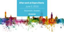 Afterwork tillsammans med ITAM Academy och Sopra Steria