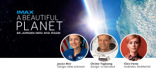 Välkommen på pressträff! Astronautmöte med Christer Fuglesang och filmpremiär på Cosmonova.