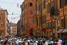 Tobias Ludvigsson cyklar Giro d'Italia