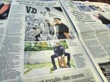 BEAT'ABOX on Berita Harian