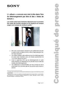 Communication de presse_Étude de High-Resolution Audio_F-CH_141121