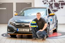 Mattias Andersson kör STCC i samarbete med Honda