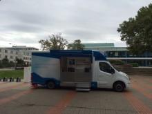 Beratungsmobil der Unabhängigen Patientenberatung kommt am 13. November nach Wolfsburg.