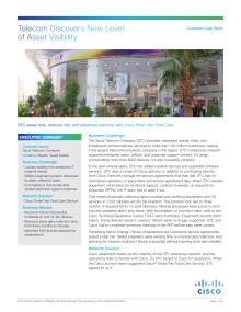 Case study network management: STC
