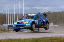 Rallycross-EM: Lasse Larsson nöjd trea i Holland