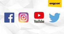 Flere enn 100 000 følger Engcon i sosiale medier – helt klart størst på markedet