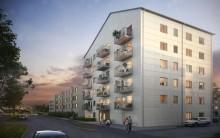Tornstadens första bostadsprojekt för Balder