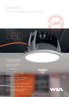 Wila Tentec, Den ekonomiska metoden för LED-belysning. PDF-Broschyr 4 sidor.