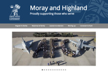 New Armed Forces website proudly supporting those who serve