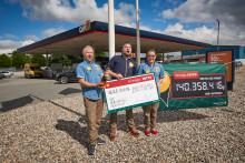 17 mio. kr. vundet i Lotto i Halsnæs Kommune