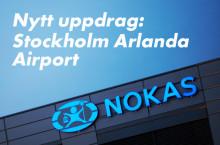 Swedavia väljer Nokas på Arlanda