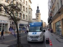 Beratungsmobil der Unabhängigen Patientenberatung kommt am 9. April nach Halle (Saale).