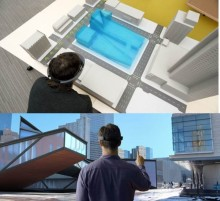 Stort kontorskomplex byggs med hjälp av hologram